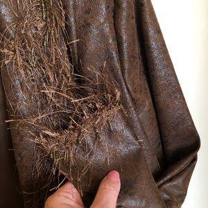 Joseph Ribkoff Jackets & Coats - Brown Jacket JOSEPH RIBKOFF  Leatherette Bead Trim